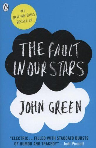 The Fault in Our Stars by John Green, http://www.amazon.co.uk/dp/0141345659/ref=cm_sw_r_pi_dp_lup7rb0R3XKTP