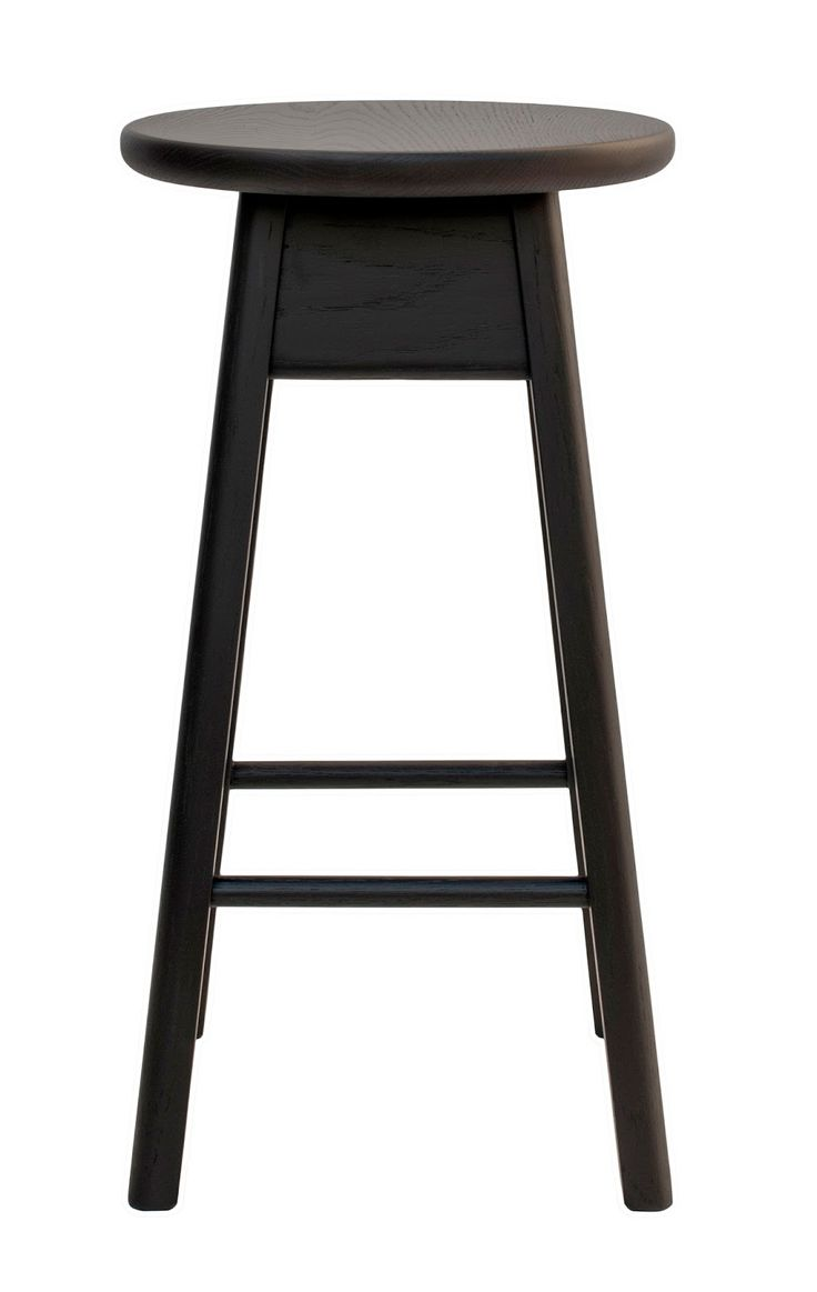 agostinoandbrown - sustainable furniture, made in Adelaide, Australia: OLIVE STOOL (ROUNDED)