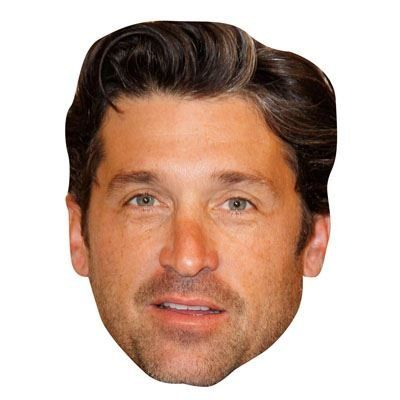 Patrick Dempsey Celebrity Mask Cardboard Face and Fancy Dress Mask -- You can find more details by visiting the image link.
