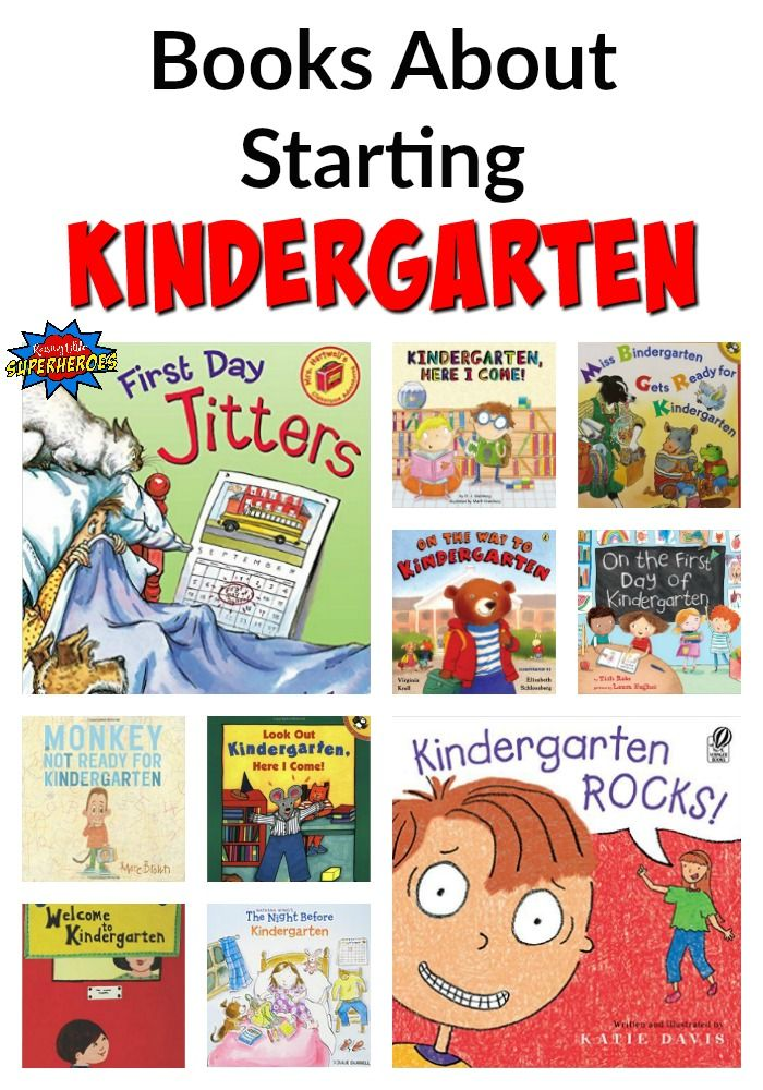 These 10 Picture Books About Starting Kindergarten will help ease your child's nerves and get him or her excited about the first day of school.
