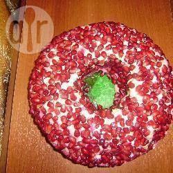 Rezeptbild: Russischer Schichtsalat mit Granatapfel