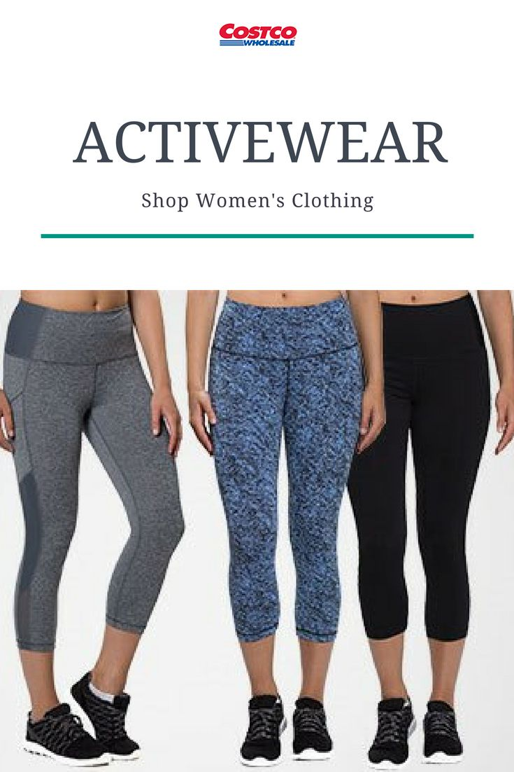 9c24a5589a56b5 Shop active wear and lounge at Costco. | Costco Fashion in 2019 ...