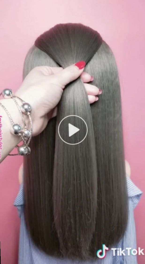 16 Hairstyles For School Videos Shoulder Length Long Hair Styles Haircuts For Long Hair Hair Braid Videos