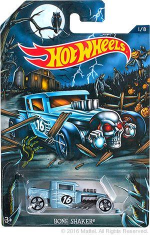 News | Hot Wheels Collectors Halloween new release Bone Shaker