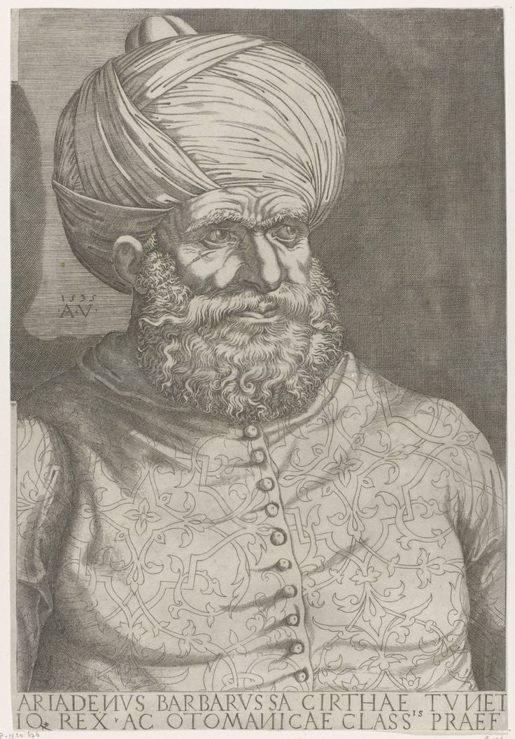 Today, Great Victory of the Ottoman Navy Led by Barbarossa against Allied European Navies led by Andrea Doria in Preveza, 28 September 1538
