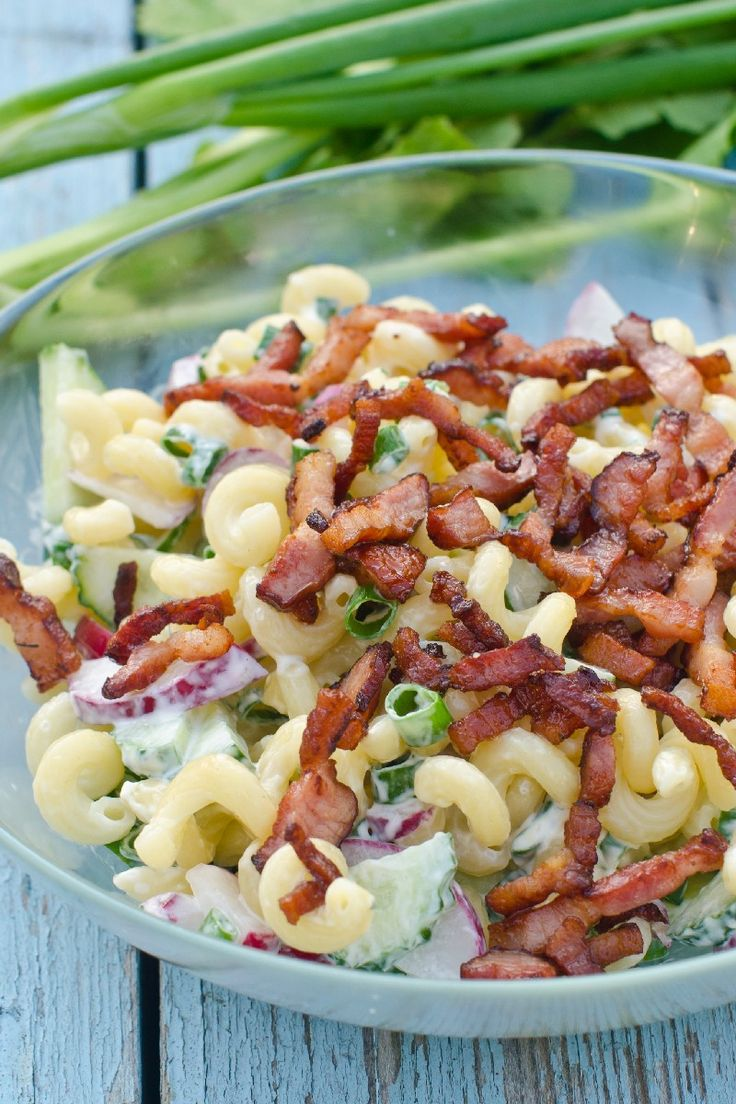 BLT Pasta Salad - Weight Watchers (2 Points)