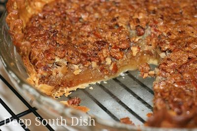 Classic Old Fashioned Southern Pecan Pie - Follow this recipe and these tips and you'll have yourself a perfect Southern Pecan Pie