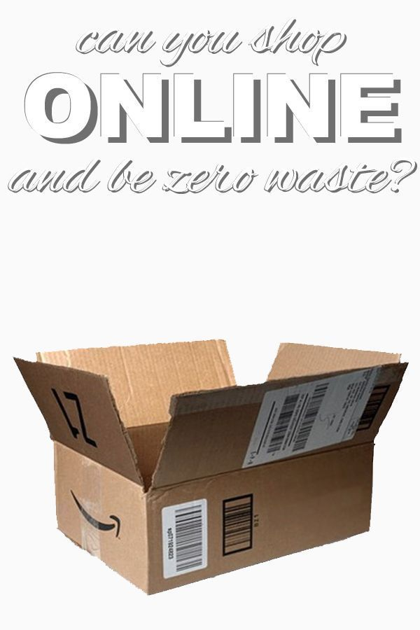 Can you shop online and be zero waste? What do you think? Read more about this modern day conundrum on http://www.goingzerowaste.com