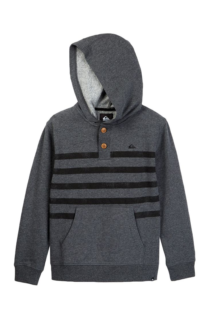 Row Over Pullover Hoodie (Big Boys)