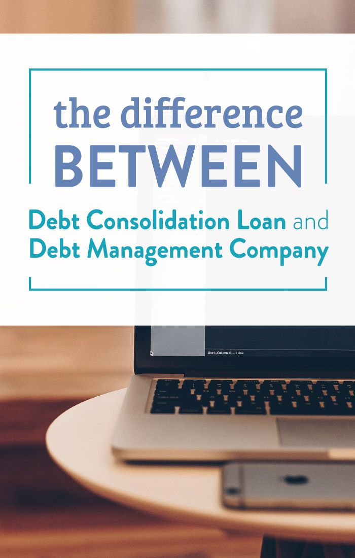 The Difference between Debt Consolidation and Debt Management https://financialbestlife.com/debt-consolidation-loan-vs-debt-management-company/