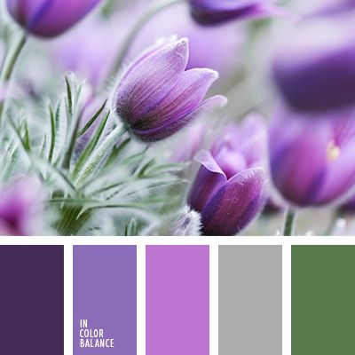 Purple haze coupled with heather and cold herbs can be used in the design of home textiles: elite pastel linen, curtains. Such items are harmoniously fit into the interior bedrooms, in the style of Provence, or modern. Purple - the color of Witchcraft and Wizardry in the interior of a room is always going to be easy and comfortable.