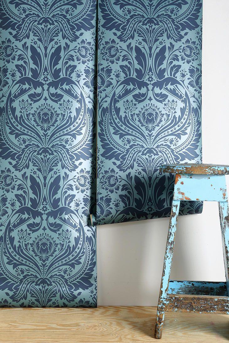 graham brown desire wallpaper 75. Black Bedroom Furniture Sets. Home Design Ideas