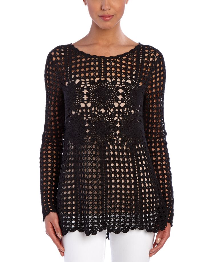 Spotted this Free People Filet Crochet Sweater on Rue La La. Shop (quickly!).