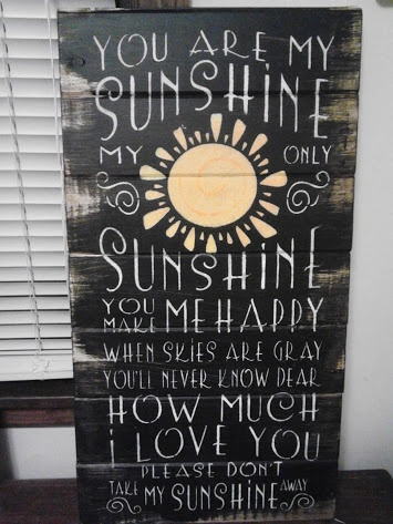 Ott Creatives | Sign: You are my sunshine | Online Store Powered by Storenvy