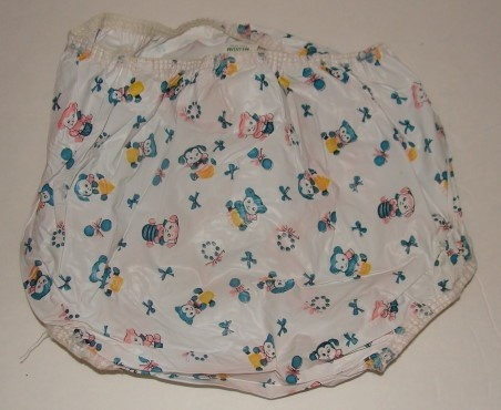 Plastic waterproof diaper cover pants