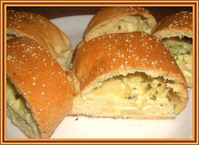 slaný sýrový závin