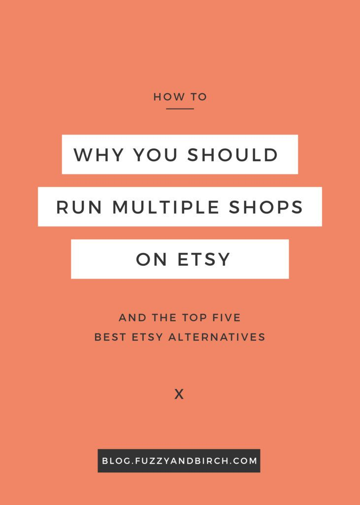 Why would you want to run more than one shop on Etsy? What will it do for your business? See why most successful sellers run multiple shops. Get the top 5 best Etsy alternatives and start expanding today. Click to read more. - Jolene's Crafting