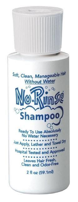 No Rinse Shampoo - 2 oz. 2 Oz