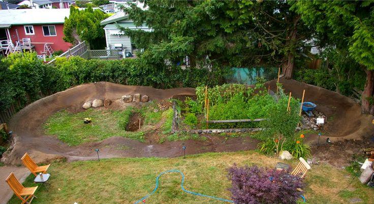 backyard pump track google search backyard pumptrack pinterest