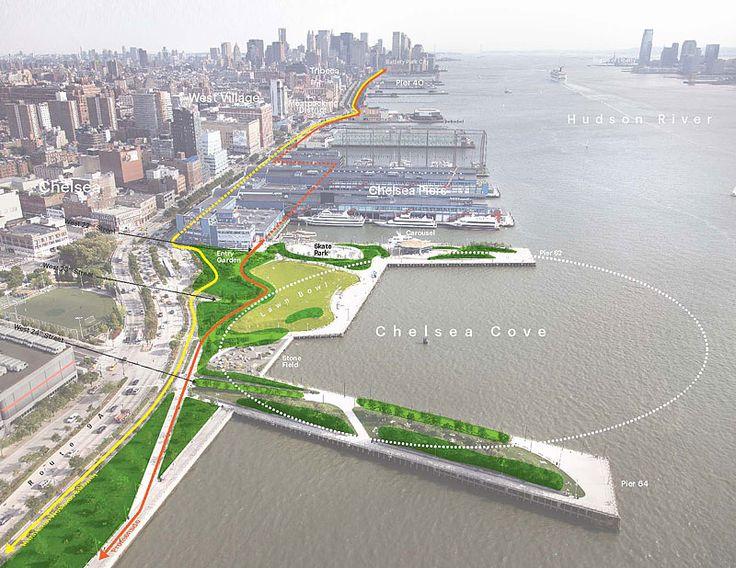 Hudson River Park // Michael Van Valkenburgh Associates, Inc.