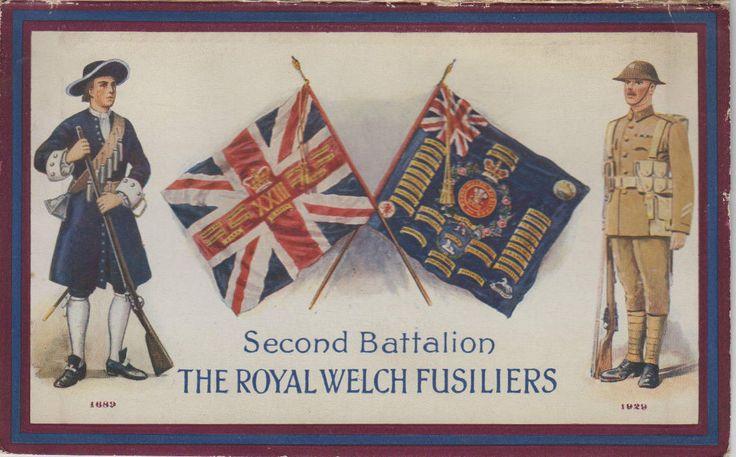 2 RWF Calendar from inter-war years
