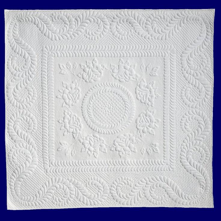 Quilting Trapunto Designs : Trapunto quilt Quilts - Trapunto Pinterest