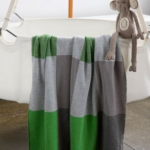 Patch Blanket - made from 100% pure combed cotton. Designed and Made in Australia by Luna Gallery. Available now at Home Productions