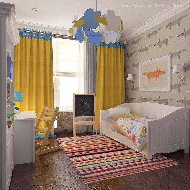 Дизайн детской на Кирочной в СПб