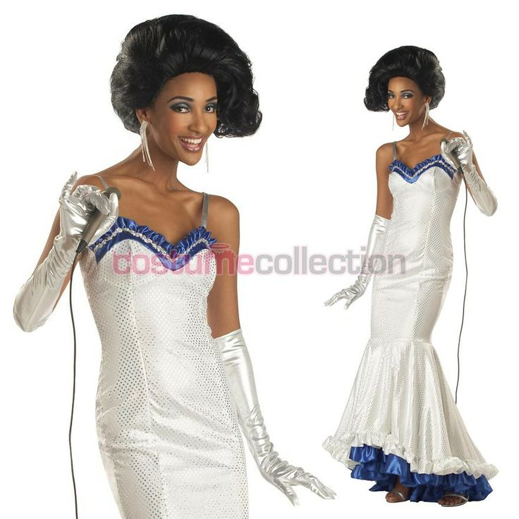Adult 1970s Dreamgirls Girl Group Retro Costume