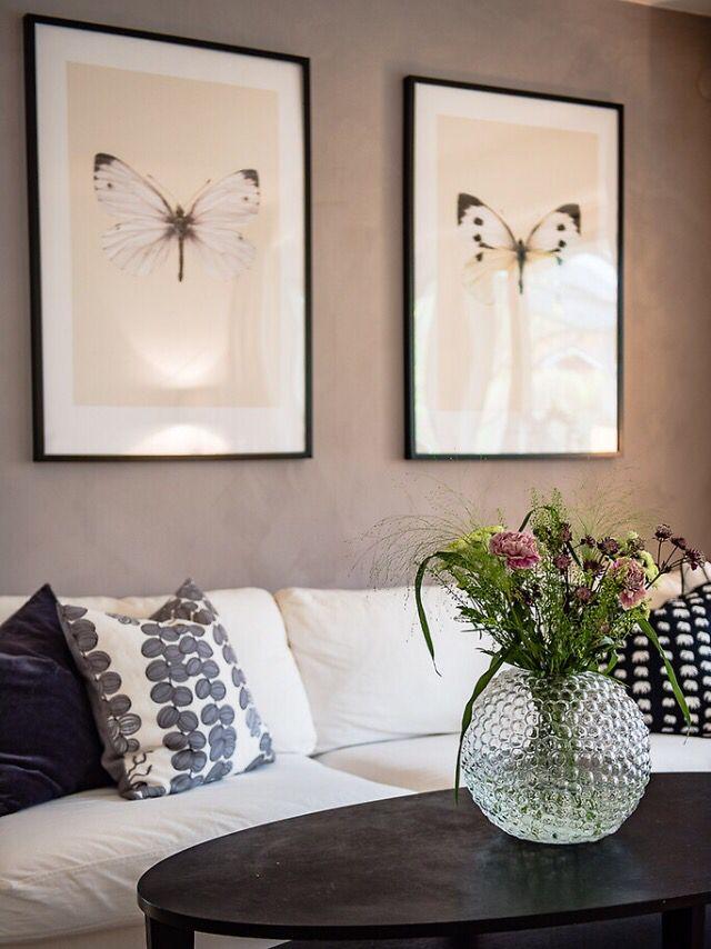Svenskt tenn dagg elephant cushion butterfly poster