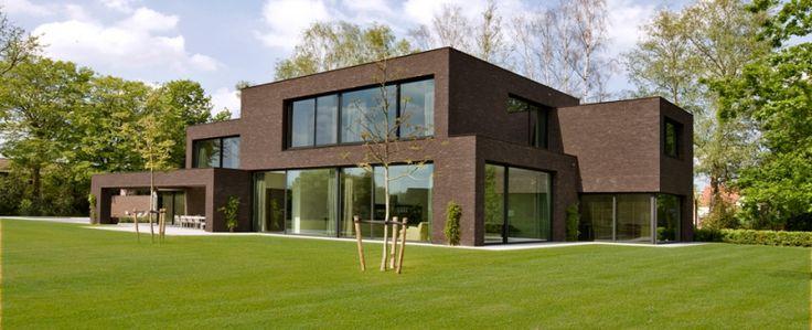 Villa moderne for Exterieur villa moderne