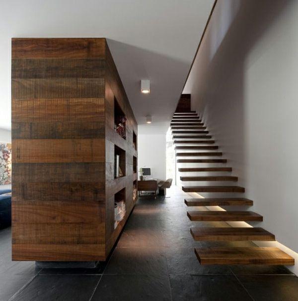 Les 25 Meilleures Id Es De La Cat Gorie Escalier Flottant Sur Pinterest Design D 39 Escaliers