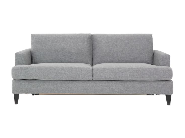 JAMES 3-seter Sovesofa Lys grå i gruppen Innendørs / Sofaer / Sovesofa hos Furniturebox (110-50-94930)
