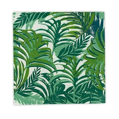 Add the essence of tropical paradise to any wedding party, garden party, beach party, bridal shower, birthday party of other special event that requires and splash of paradise. This set of Tropical Leaf inspired Paper Napkins and Paper Plates features the beautiful lines of tropical leaves in lush island greens. An affordable way to add just the right touch of the tropics to your next party.