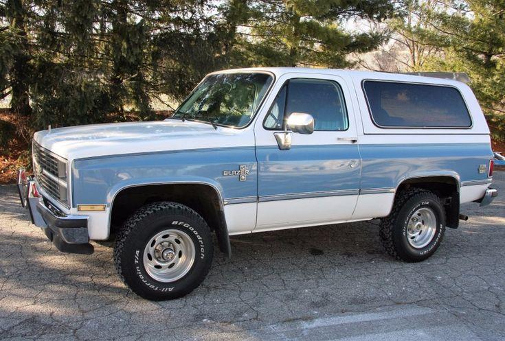 1984 Chevrolet Blazer | Old Trucks | Pinterest | Blazers ...