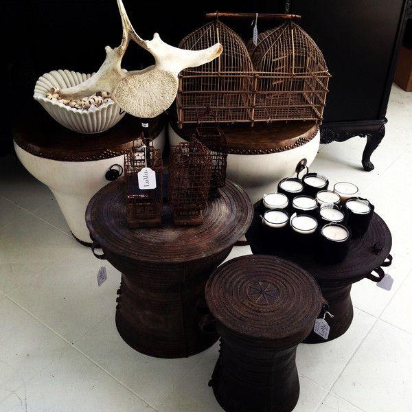 Antique Thai Rain Drum Various Sizes Available Objects Of Desire Pinterest Entrance
