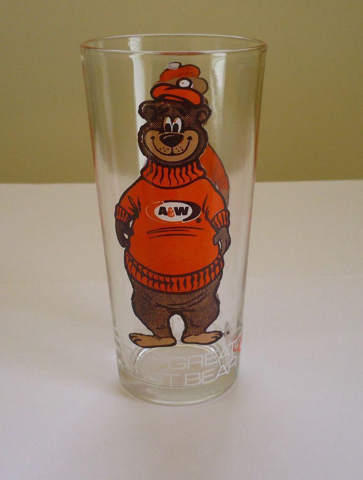 Memories!!! Vintage A&W Root Beer GLASS