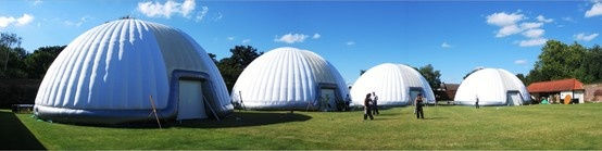 14m #FESTIVAL SOLUTION #MULTIPLE #STRUCTURES  #Inflatable #Temporary #Structure #Events http://www.brandinteractivation.com/