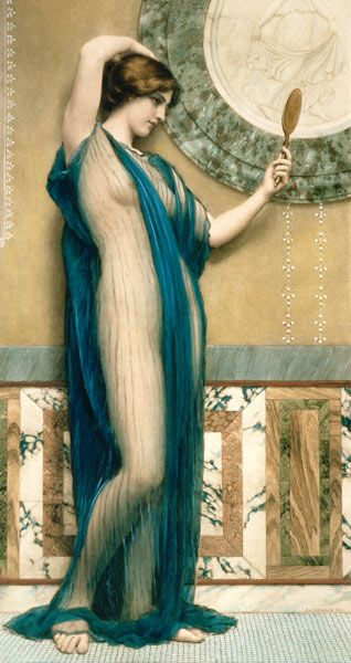 A Fair Reflection ~ John William Godward