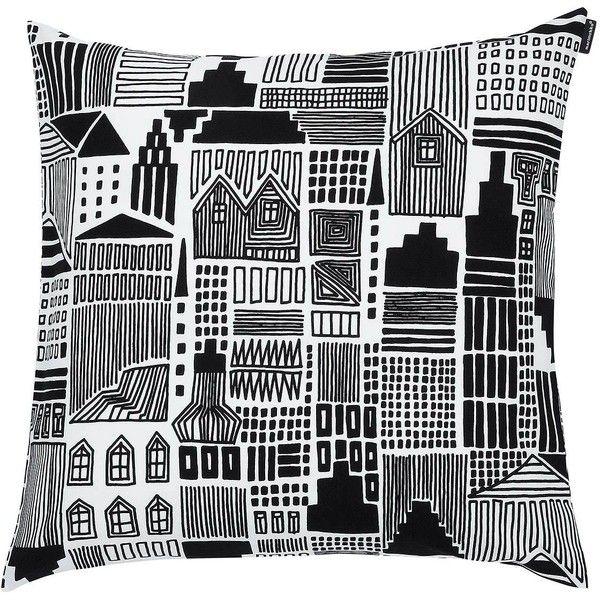 marimekko onnea etsimss pillow sham 29 liked on polyvore featuring home bed - Marimekko Bedding