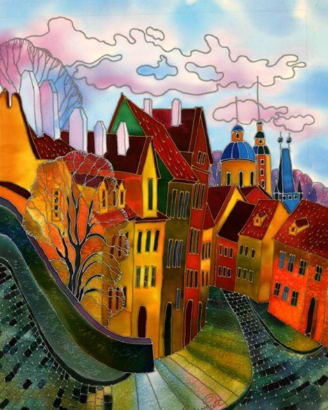 Pink Clouds -- Yelena Sidorova