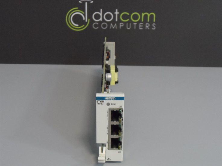 Adtran 1184510L1 ETHM SOC260EGAA 10/100 ETHERNET MOD Warranty Opti-6100 Quantity