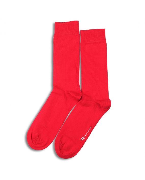 Democratique Socks Originals Solid Spring Red