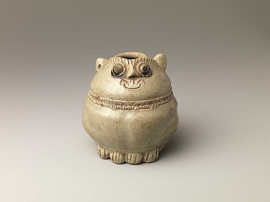Lime Pot in the Shape of Cat, 11th–12th century. Cambodia. The Metropolitan Museum of Art, New York. Purchase, The Vincent Astor Foundation Gift, 2007 (2007.260) #cats