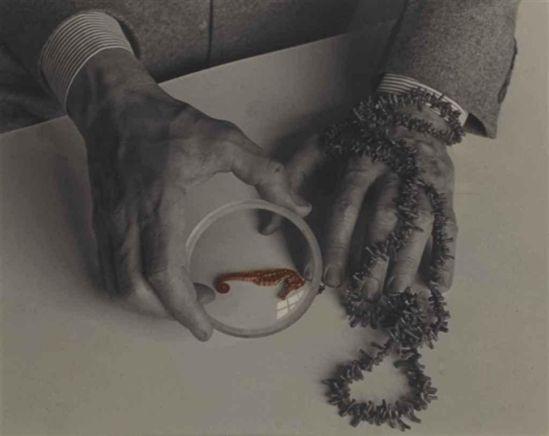 Josef Breitenbach. The Hands of Max Ernst 1942.