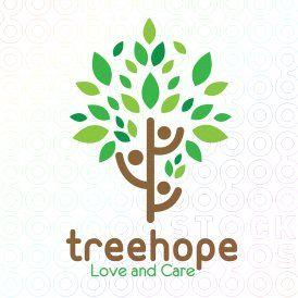 #Tree #Hope #logo