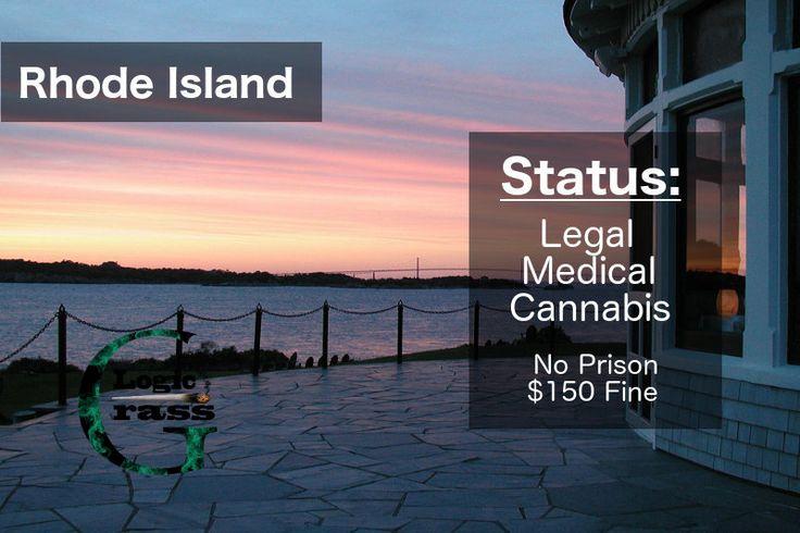 Check out the legal status of marijuana in Rhode Island #marijuanalegalization #cannabiscommunity