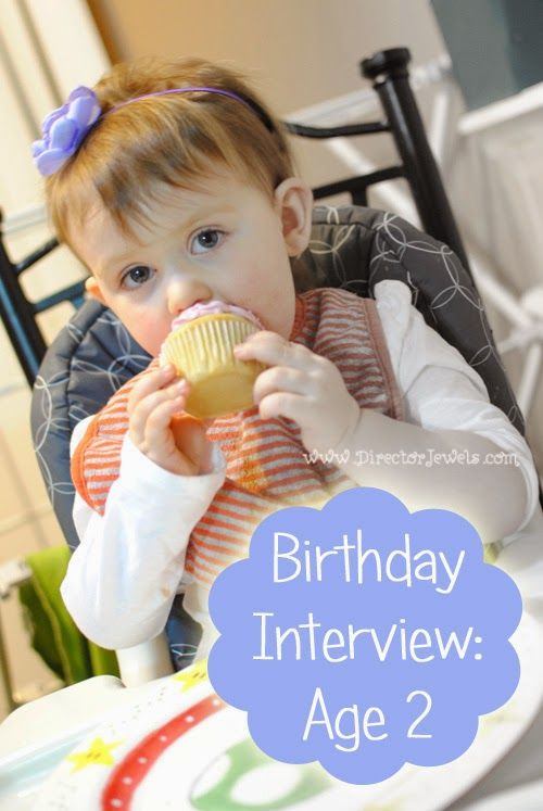 Interview your kids each year on their birthday to see how their answers change! List of questions to ask! Addie's 2nd Birthday.