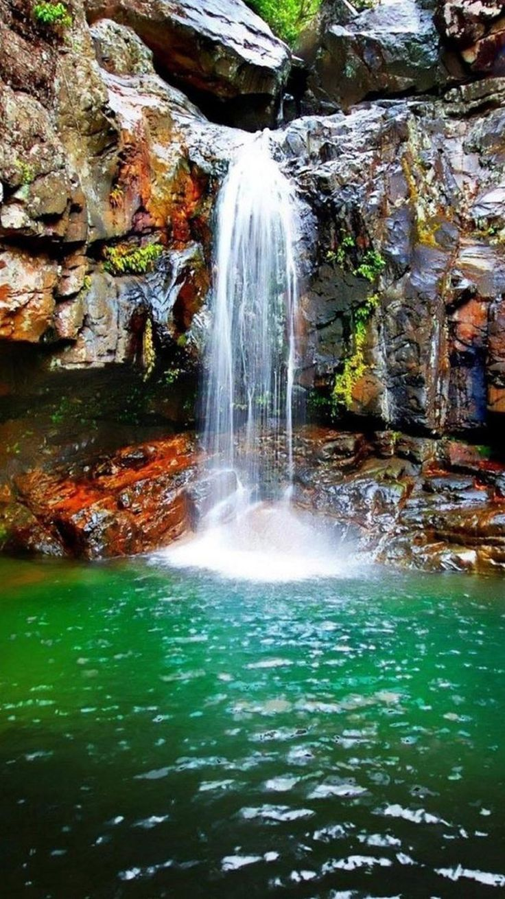 Best 25 waterfall wallpaper ideas on pinterest natural - Nature wallpaper of waterfall ...
