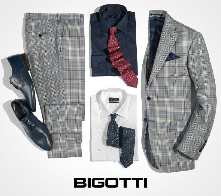 The #grey #plaid #suit - a #prominent #piece in #mens #wardrobe  www.bigotti.ro #Bigottiromania #moda #barbati #mensfashion #costume #carouri #followus #ootdmen #ootd #gri #menswear #mensclothing #mensstyle #smart #stylish #fashiontag #stilmasculin #stylingtips